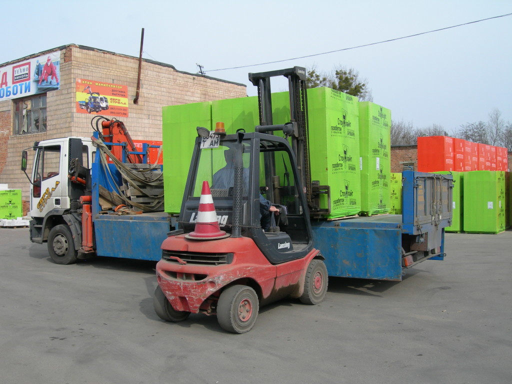 Доставка строительных материалов в Житомире